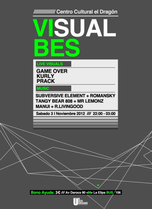 VISUAL VIBES FLYER