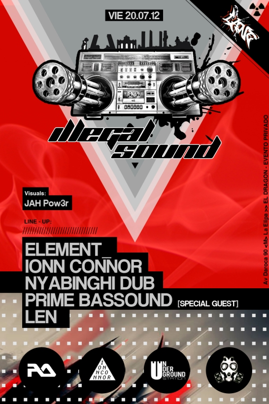 ILEGAL SOUND FLYER